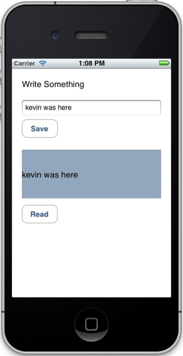 Figure 3: App Output
