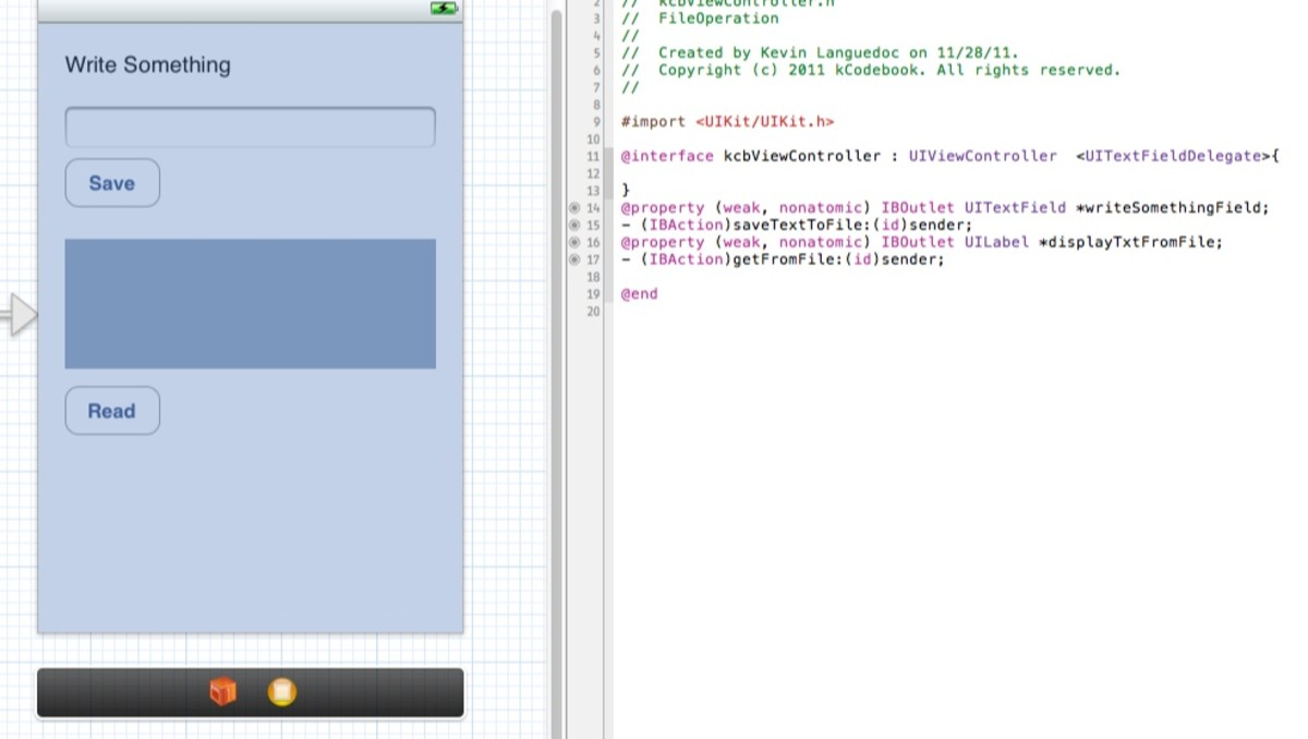 How-To Read and Write to Files with iOS SDK (Objective-C