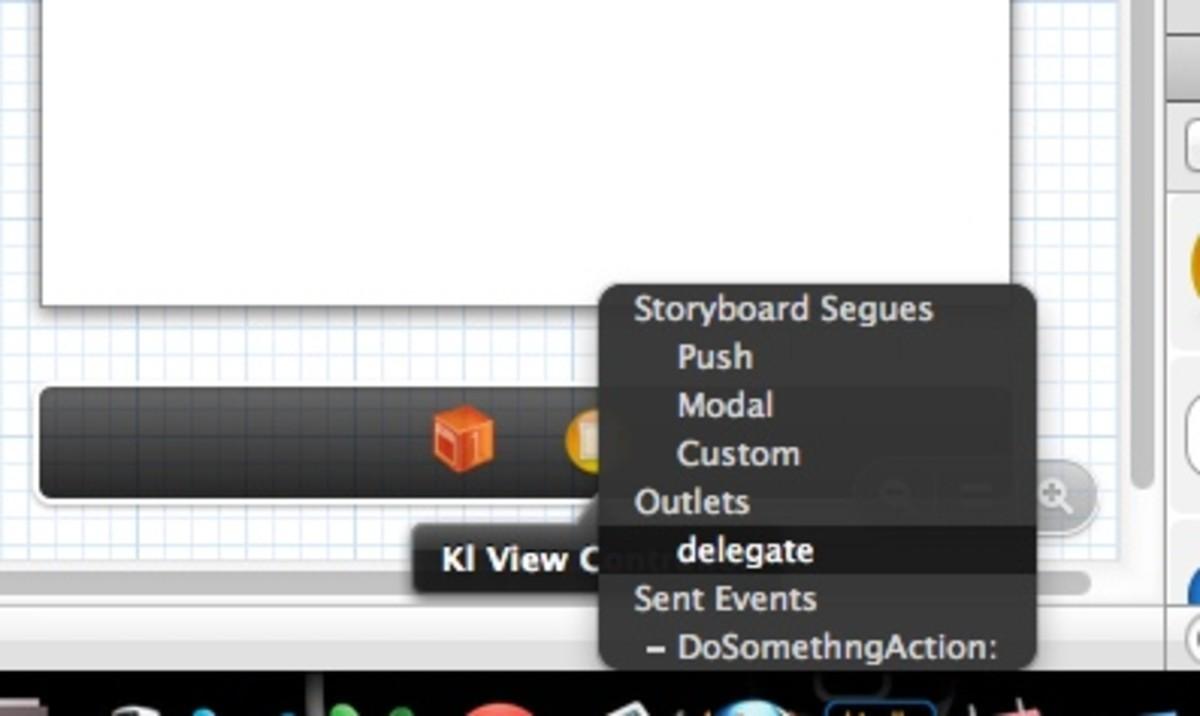 Configure Delegate