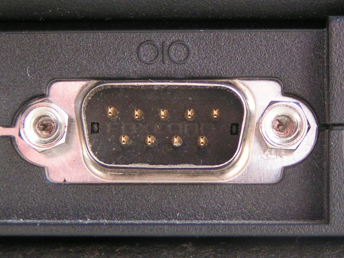 Serial port used by the serial mouse