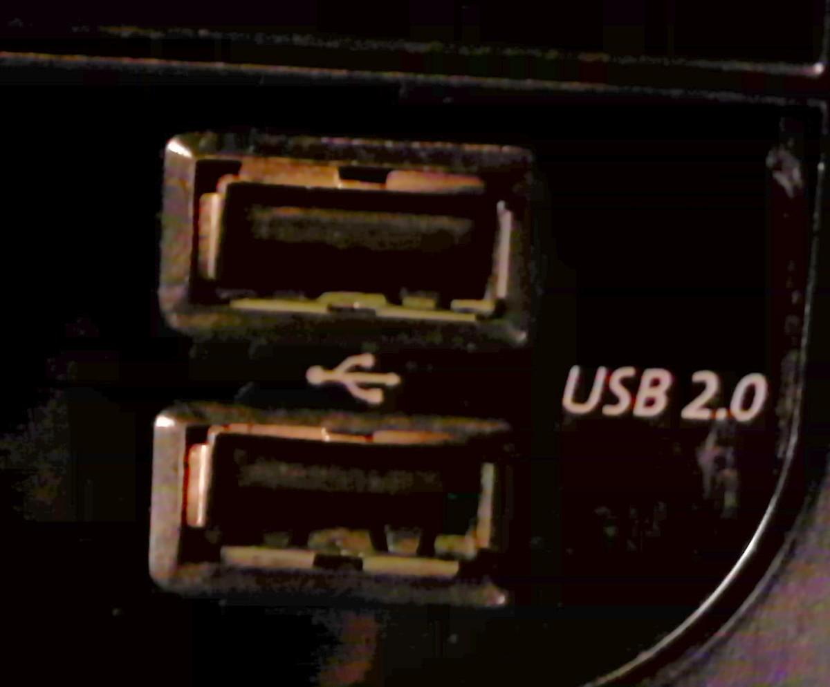 The USB Ports