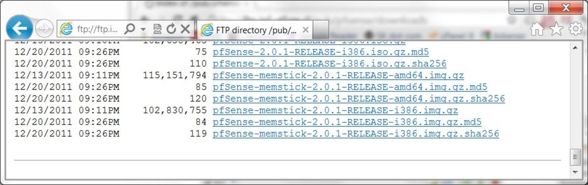 Download either the i386 (32-bit) , or 64-bit memstick image file.