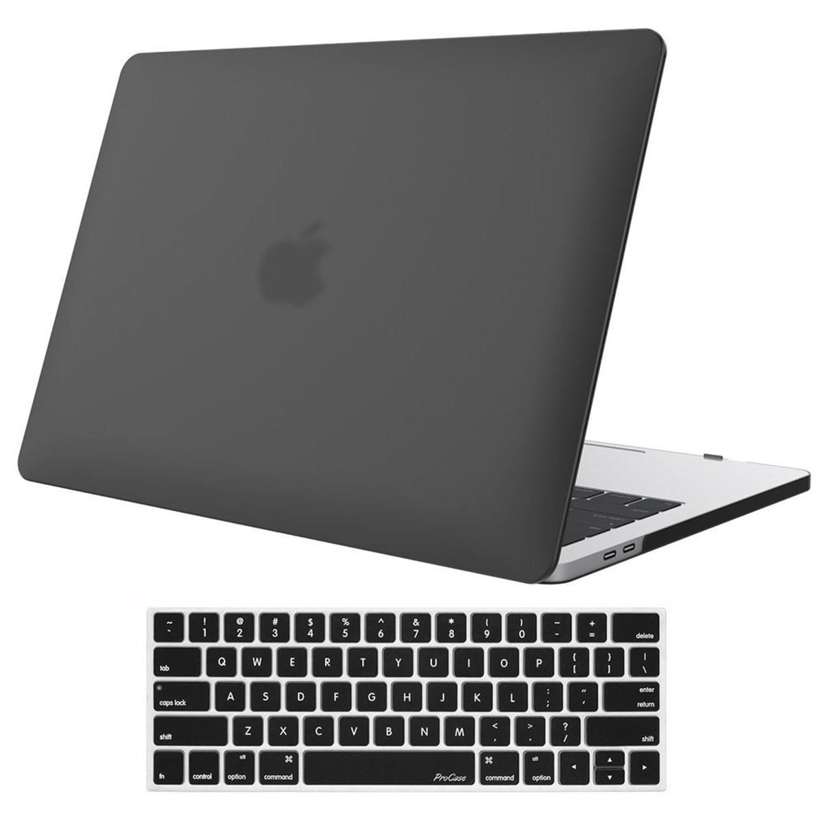 The ProCase Hard Shell. An affordable case that looks good and does the job, in my experience. I use one on my newest MacBook, it was easy to install and I like the keyboard cover, which really does help stop getting crumbs under the keys.