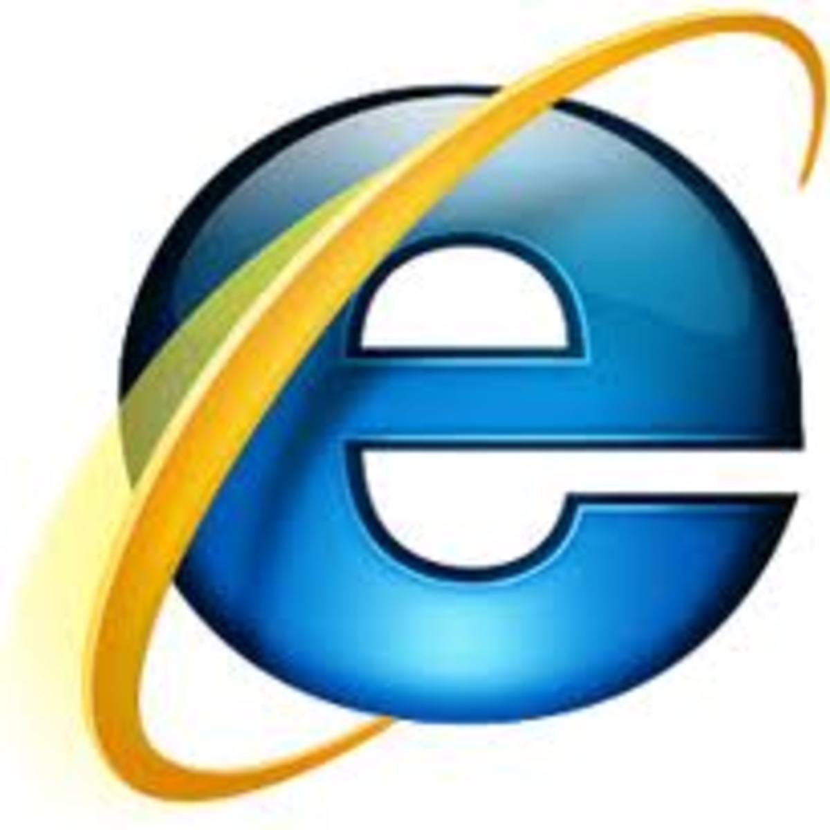 Microsoft Internet Explorer (IE) logo