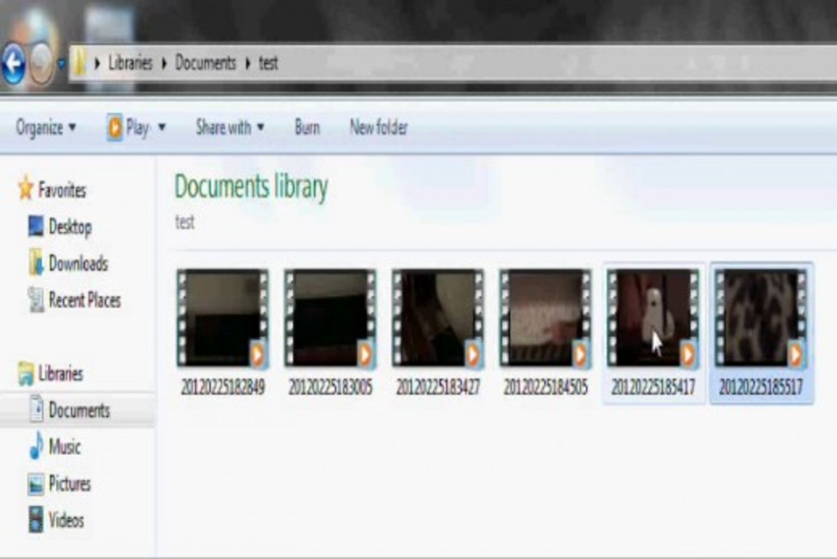 Navigate to the folder where you elected to output the converted files. Play the files in a video player that supports that file type.