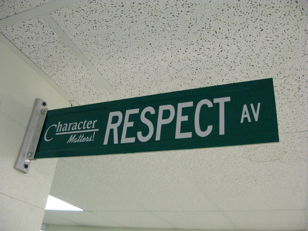 Respect is a two-way street (yes, you can groan)