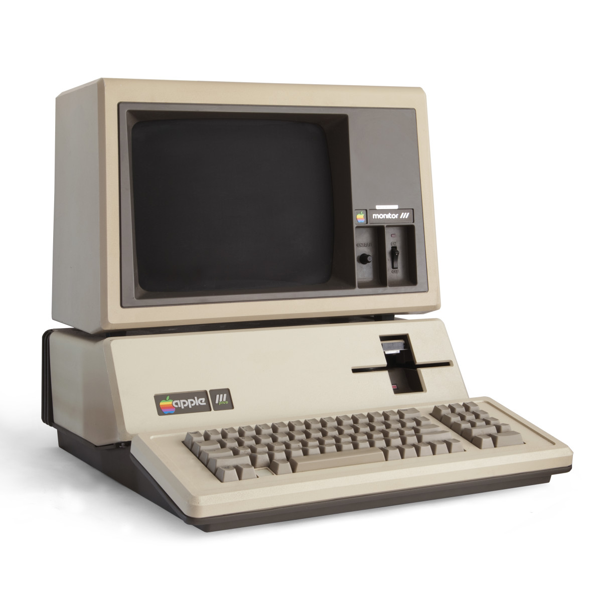 Less than 100,000 Apple IIIs were ever sold.