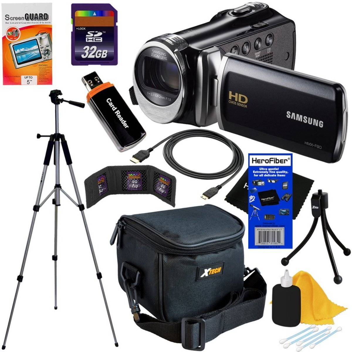 Samsung Camcorder Bundle Package