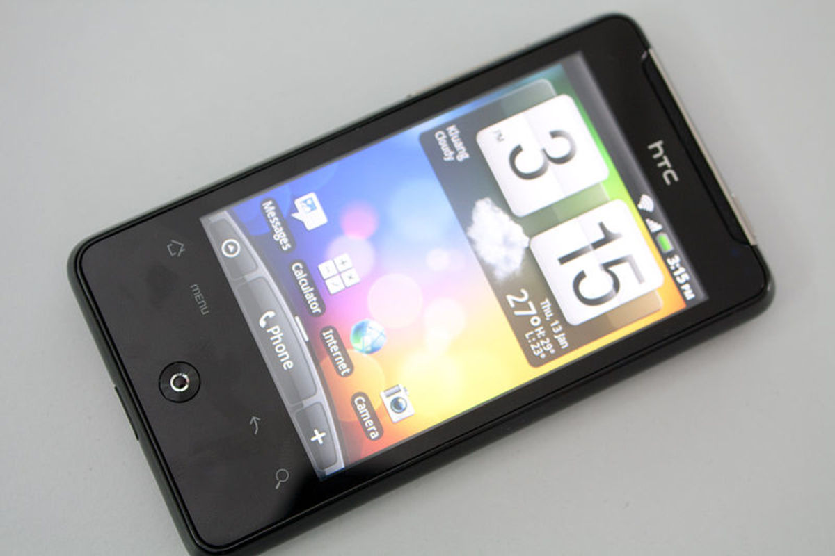 HTC Aria Android 2.2 smart phone