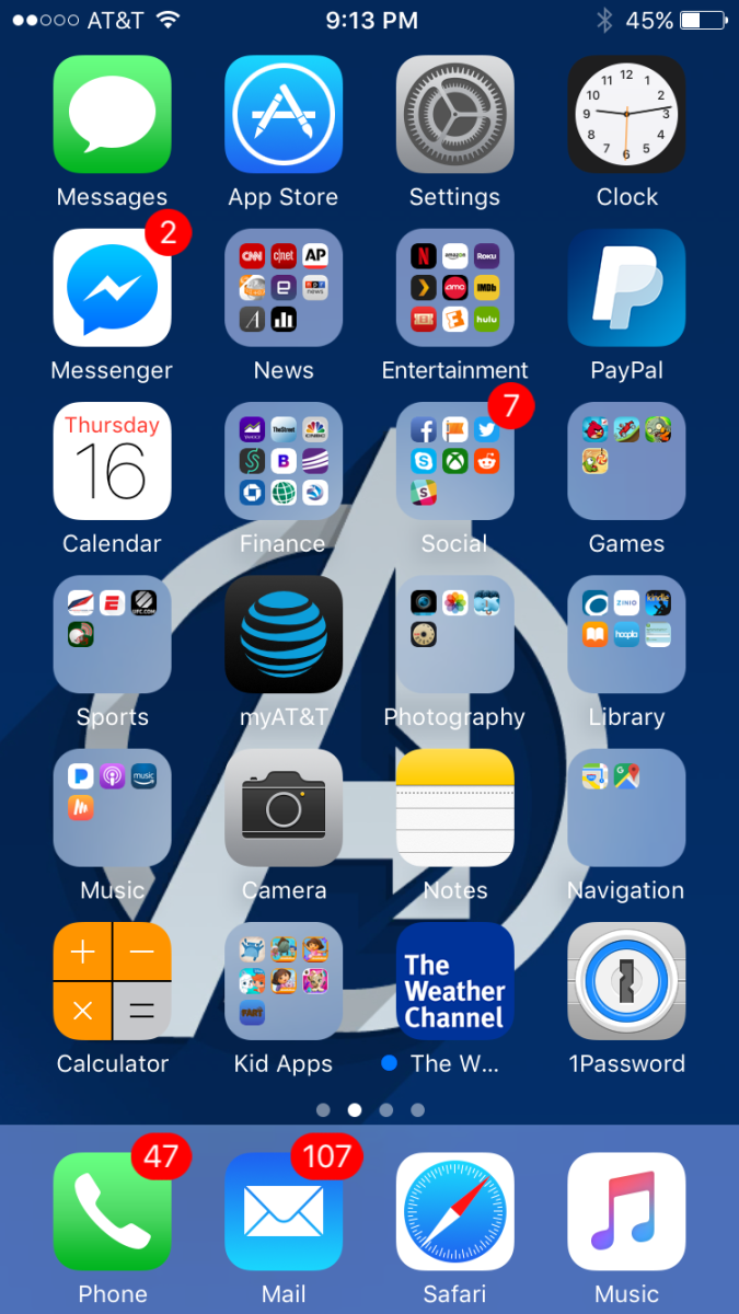 "Tap the ""Settings"" app on your iPhone's home screen."