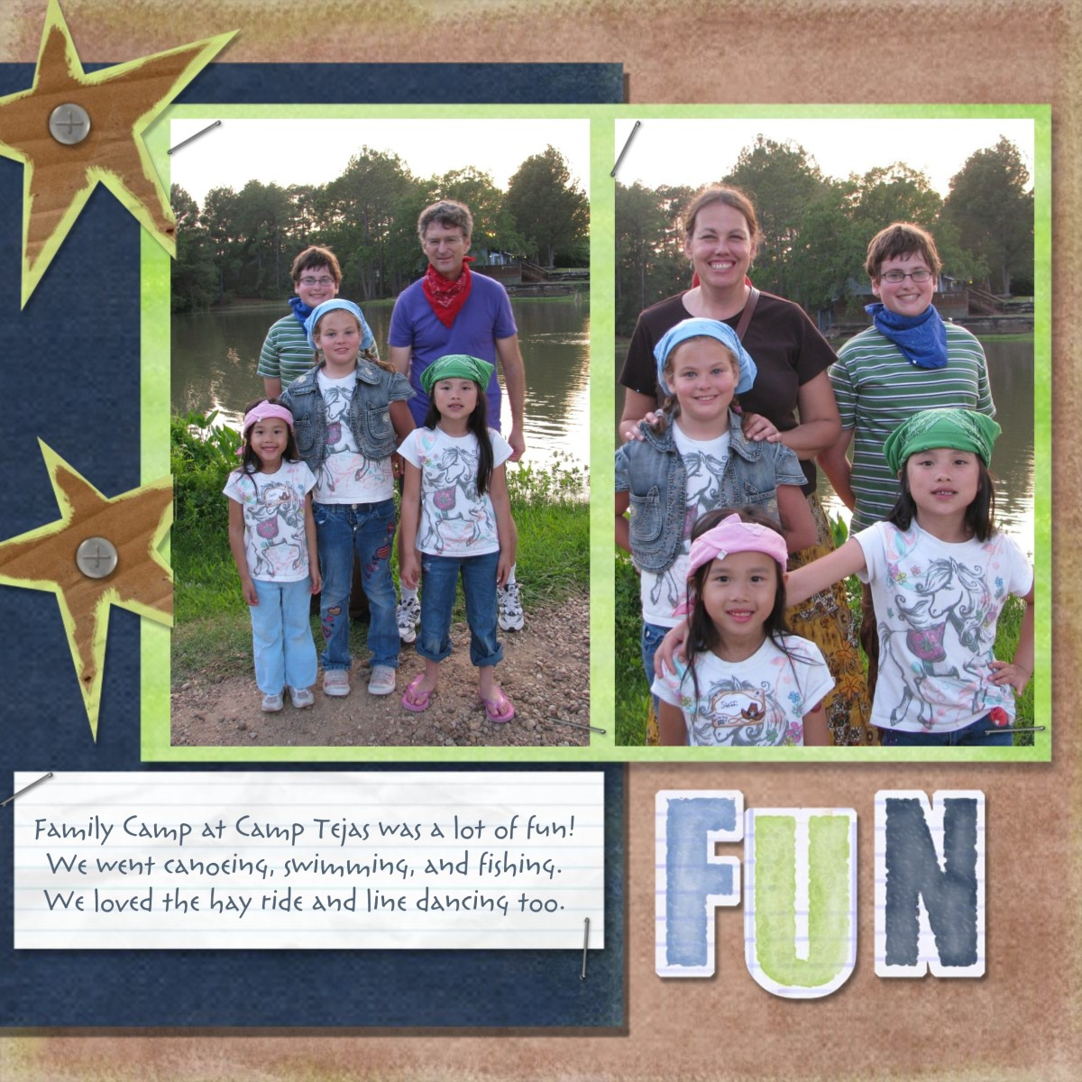 Smilebox:  each scrapbook design has 4 to 10 different coordinating layouts