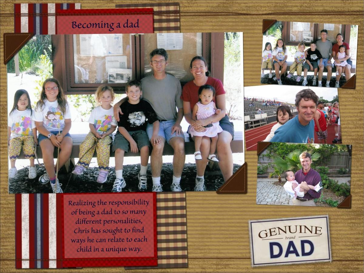 Smilebox Genuine Dad