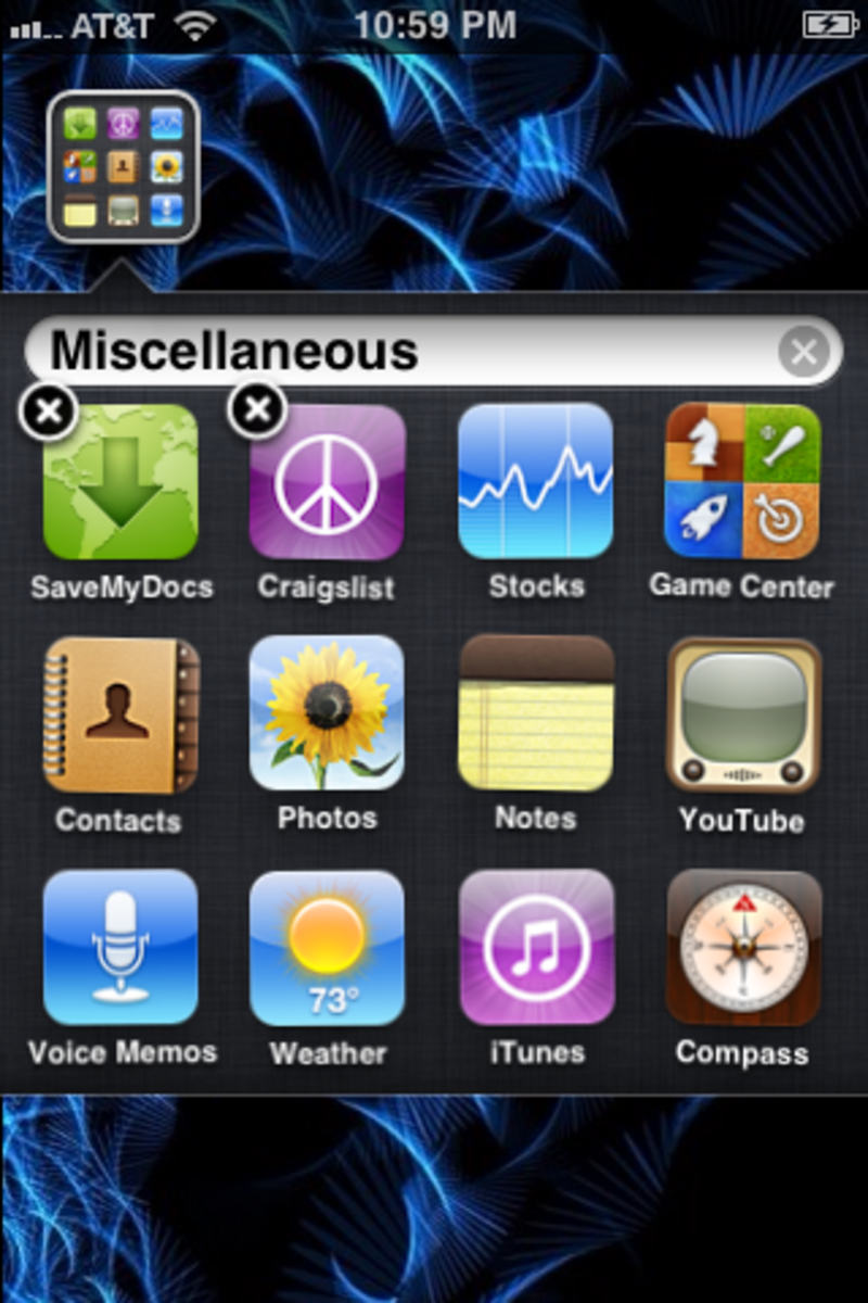 "Rename the folder ""Miscellaneous."""