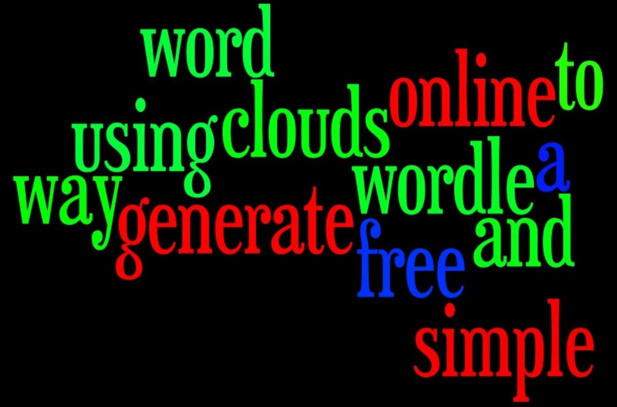 Free online word cloud tool Wordle