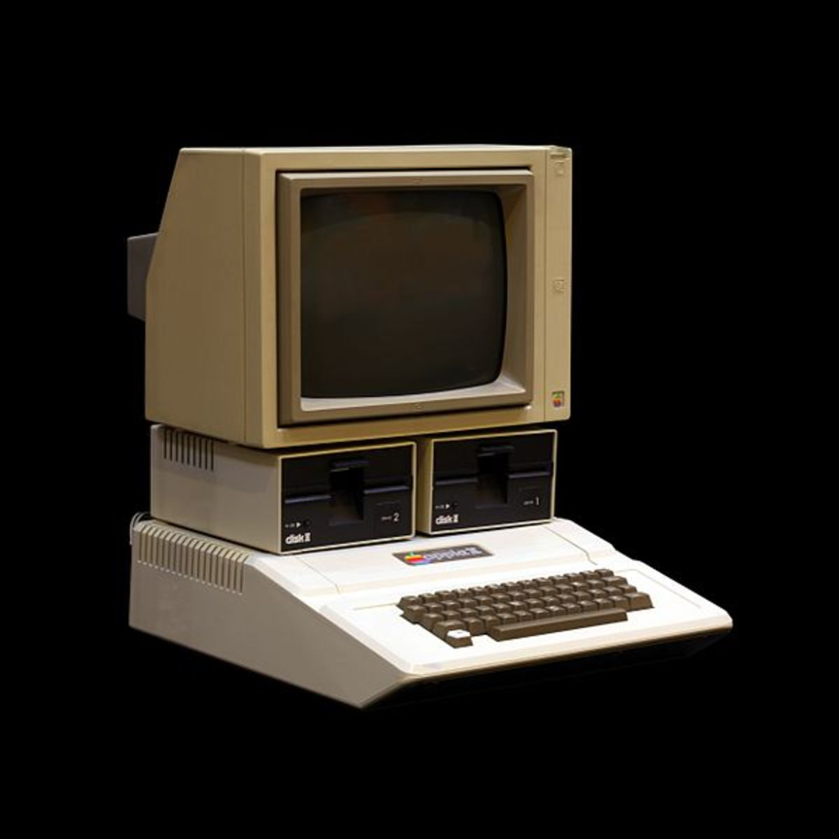 Apple II, the personal computer of 1977.