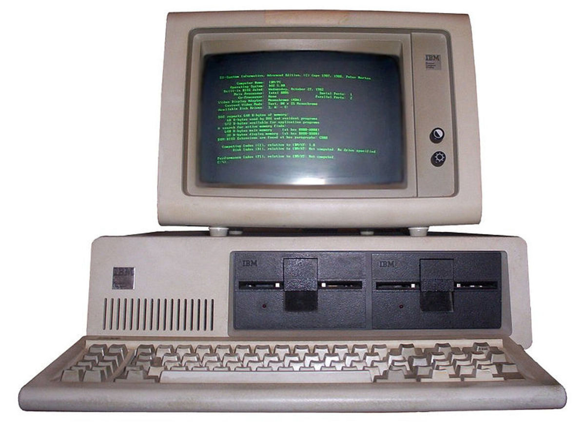 The IBM-PC from 1981.