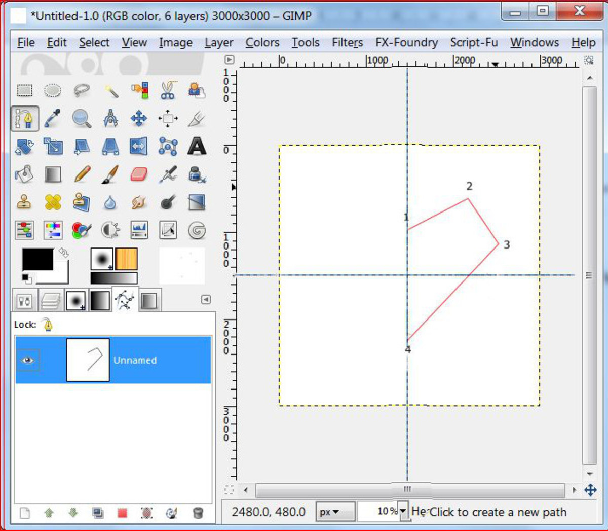 Create A Heart Brush In Gimp Using Paths Tool Turbofuture Technology