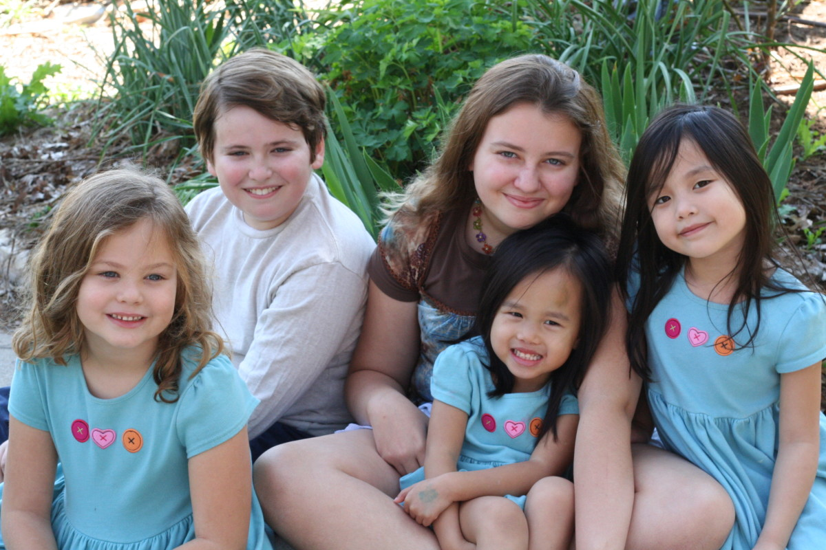 We are blessed to have added two children to our family through international adoption from China.