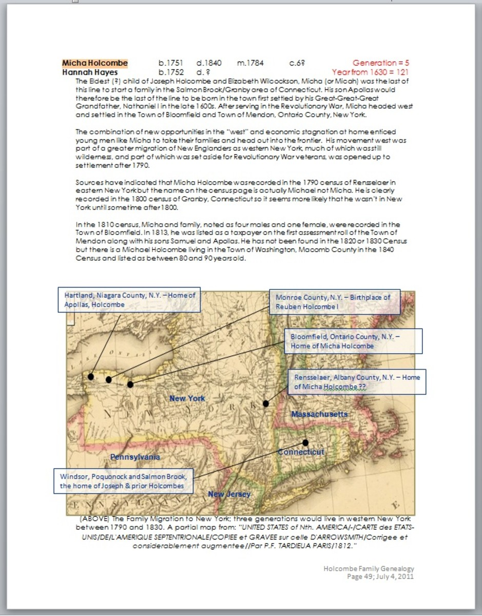 In this screen shot sample, an annotated map, using text boxes and shapes (lines), share the page with regular Word text. Everything was made right in Word.