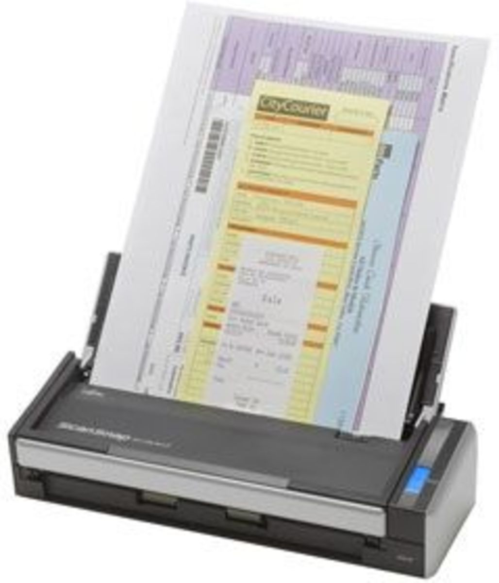 Fujitsu ScanSnap S1300 Mobile Printer Scanner Review