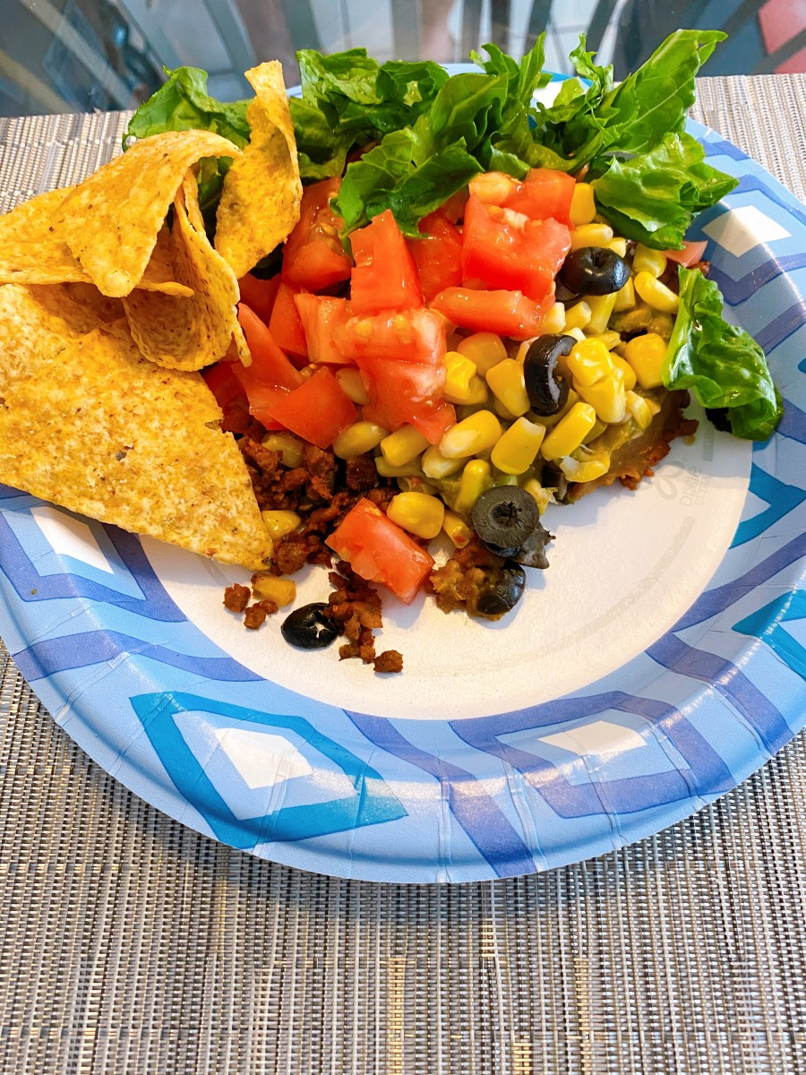 Vegan Seven-Layer Dip