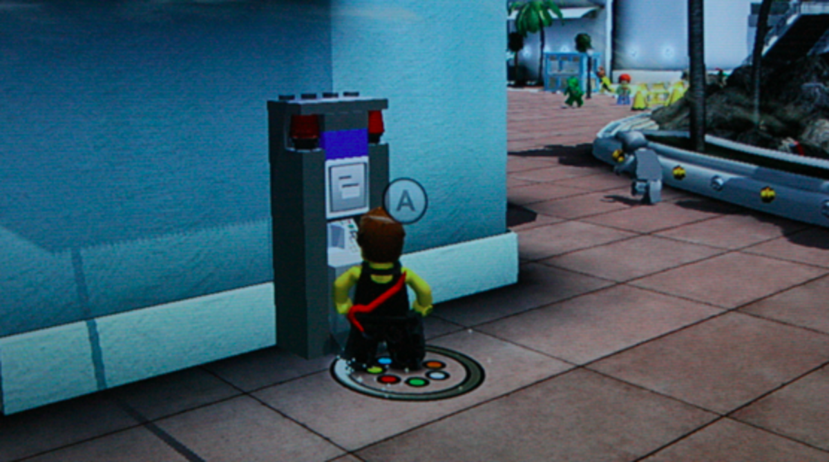 LEGO City Undercover walkthrough: ATM Locations