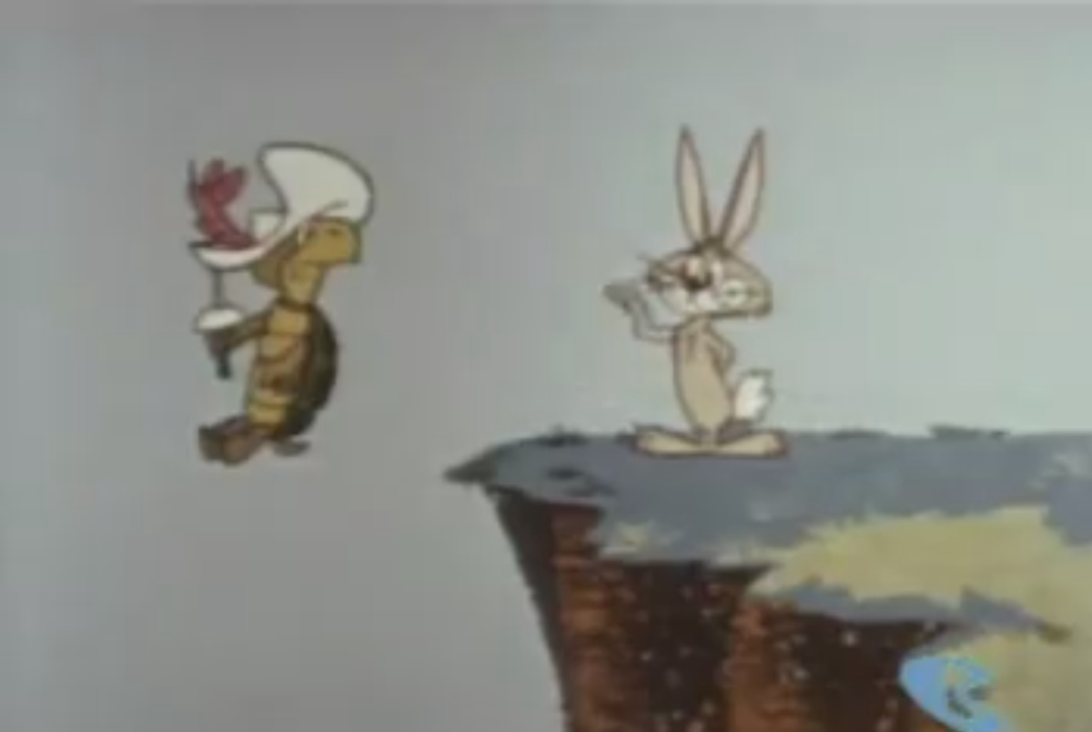 Ricochet Rabbit, who would later star in his own cartoon, first appeared in Touché Turtle