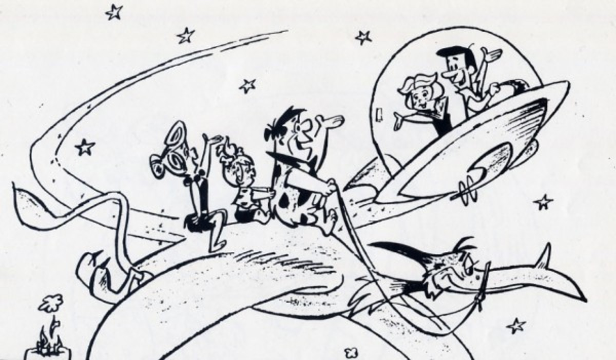 The Jetsons made a decent effort to emulate the success of The Flintstones, but ultimately wasn't able to survive in prime-time