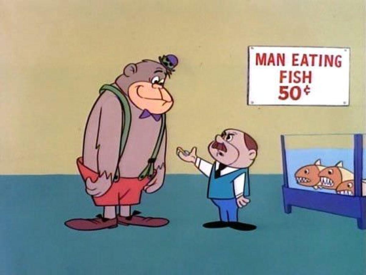 Magilla Gorilla and Mr. Peebles