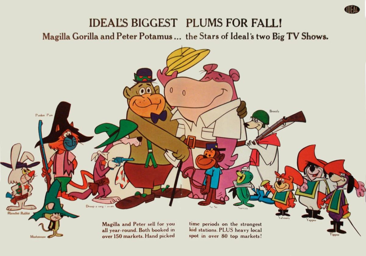 history-of-hanna-barbera-magilla-gorilla-and-peter-potamus-the-first-toyetic-cartoons