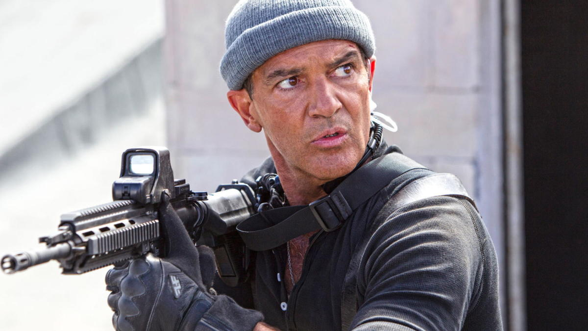 If Banderas was supposed to be comic relief then it badly backfired...