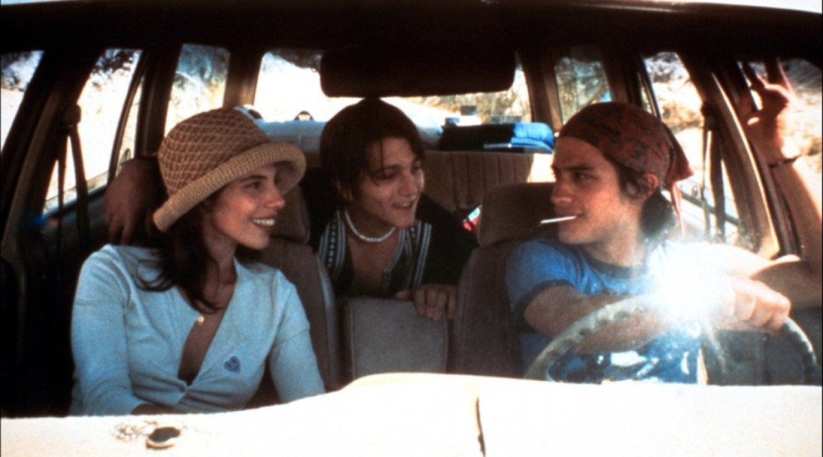 The film made stars out of Bernal (right) and Luna (centre) as well as bringing director Alfonso Cuarón international recognition.