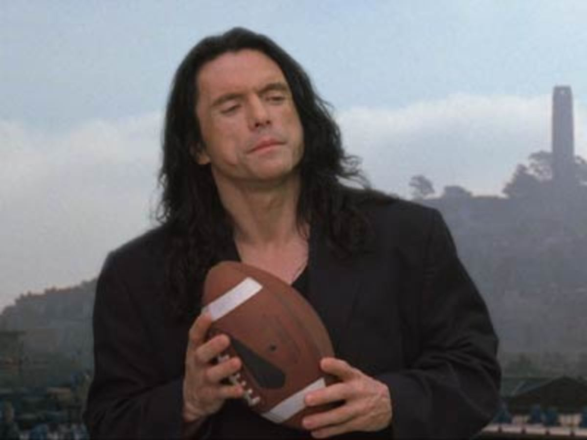 The film's writer, director, producer and lead actor Tommy Wiseau - a man as unfathomable as his accent...