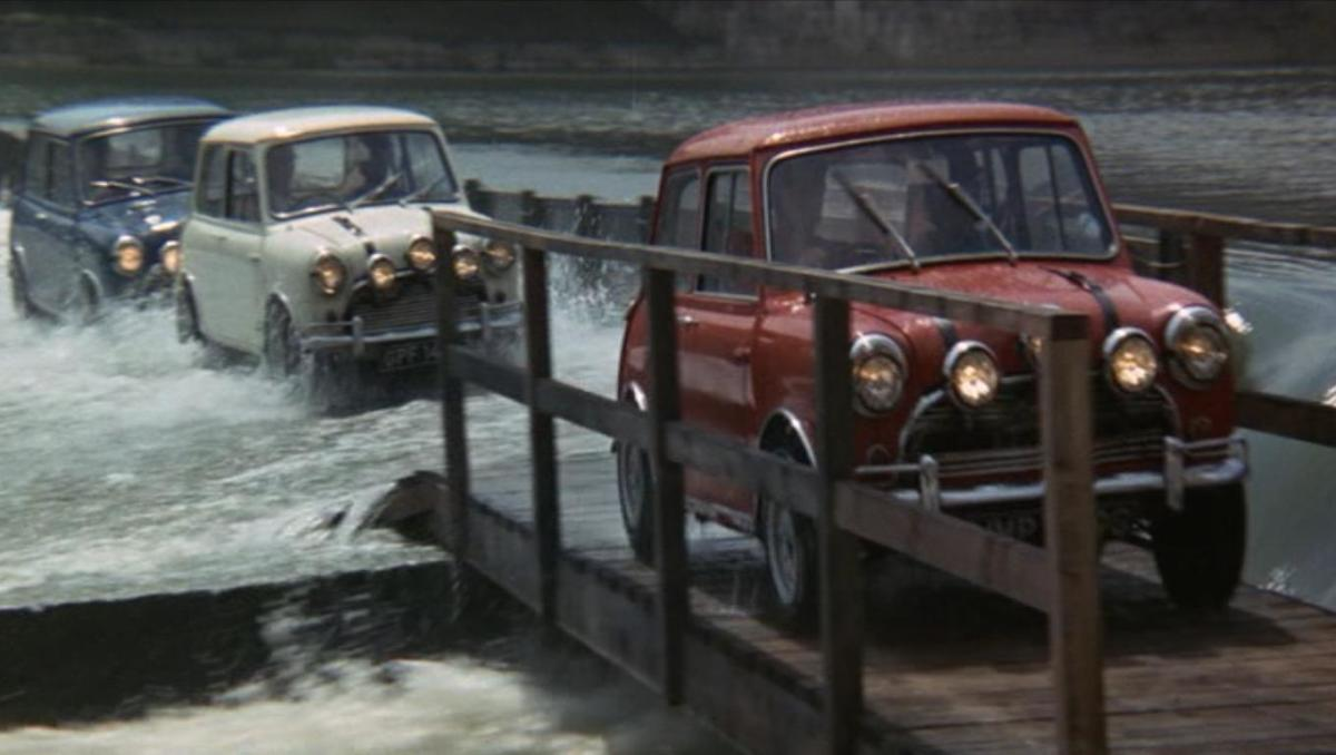 There's no denying that the cars are the real stars of the film...