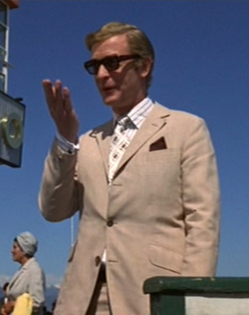 Caine's charm, style and wit combine to great effect