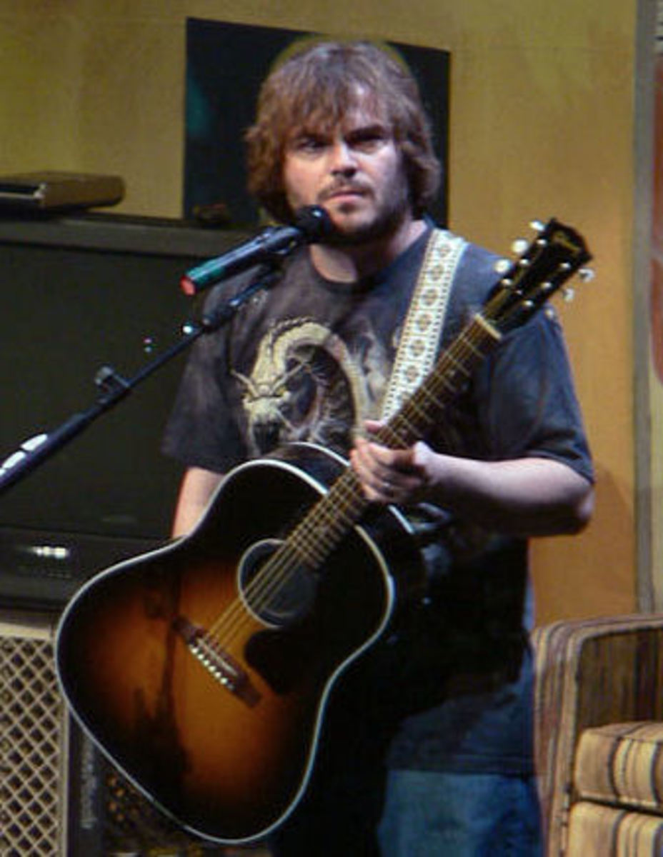 Jack Black is hopelessly miscast as one of the four gooey-eyed romantic leads