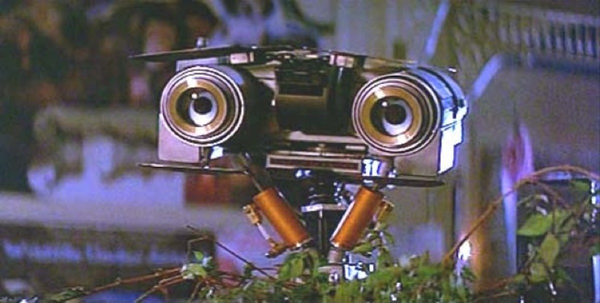 "Number 5 - the real star of the film and probable precursor to ""WALL-E"""