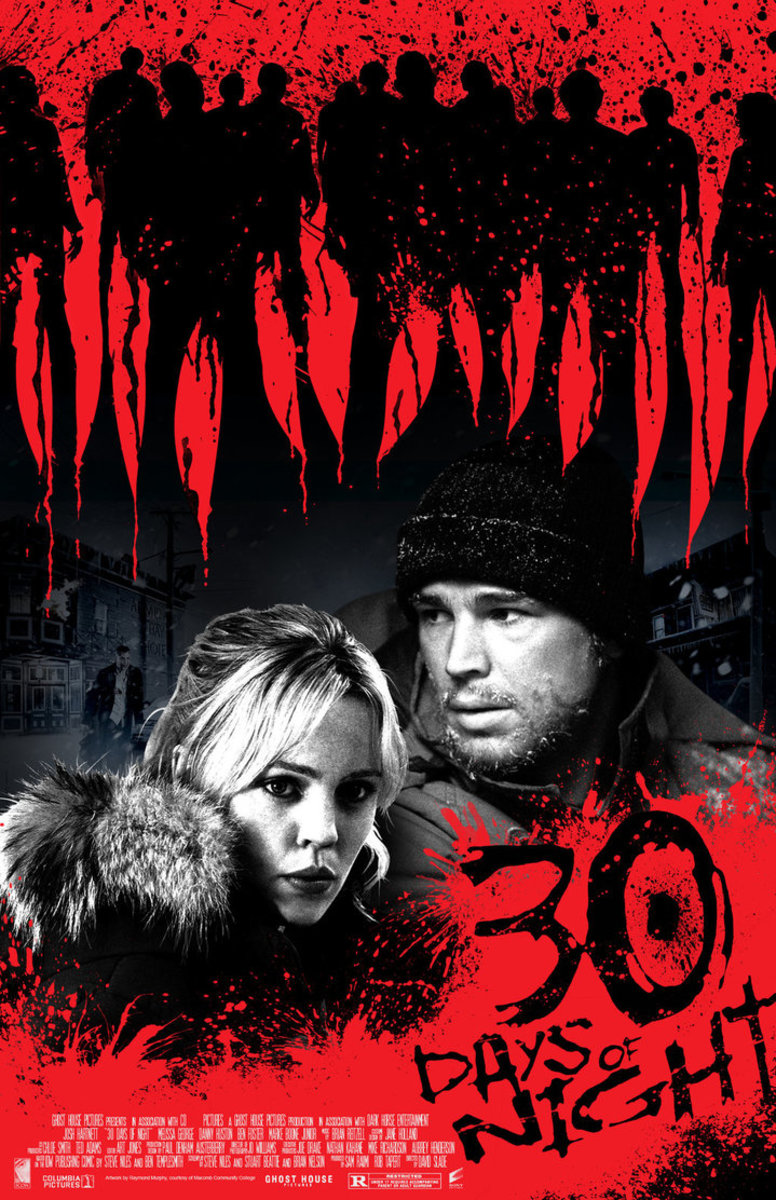 30 Days of Night is a movie produced by Columbia Pictures and distributed by Sony Pictures Entertainment.