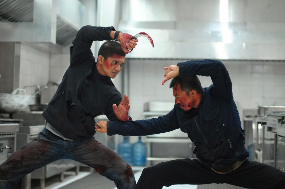 The violence is excessive, visceral and visually stunning, almost balletic at times...