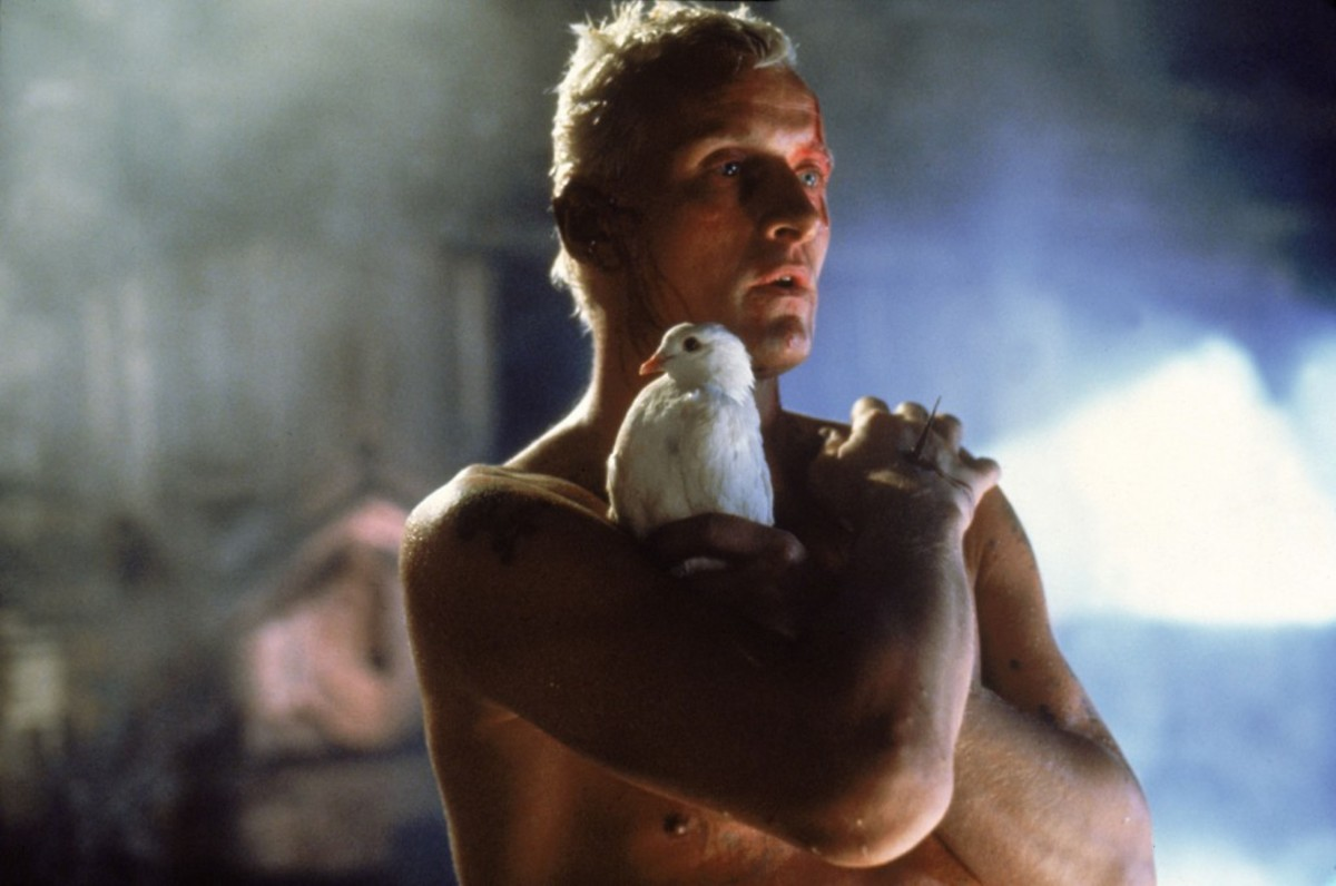 The film has the performance of a lifetime from Hauer as the replicant facing his own mortality, Roy Batty