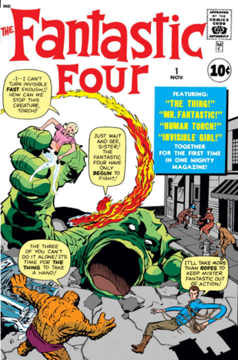 Fantastic Four #1 is generally regarded as the birth of Marvel Comics