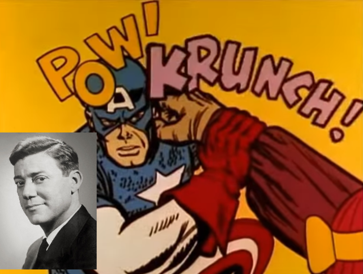 Captain America was voiced by American TV personality Sandy Becker