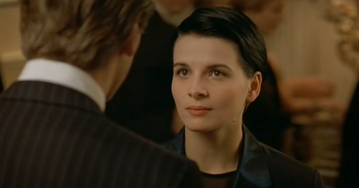 Binoche is perfectly cast as the irresistible Anna - even her English accent is superb