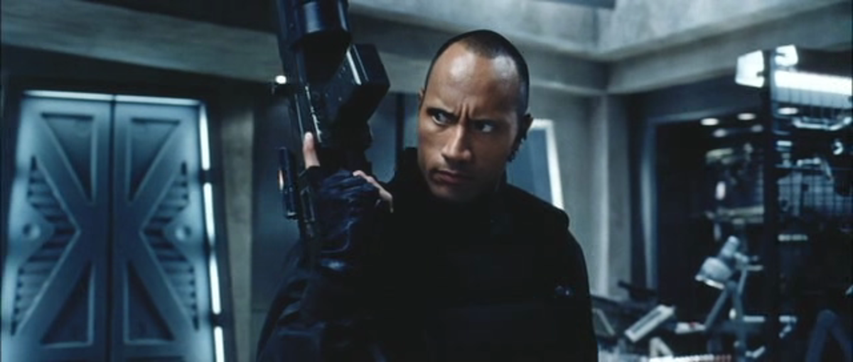 The movie is another misstep in the career of future A-lister Dwayne Johnson, back when he was still known as The Rock.