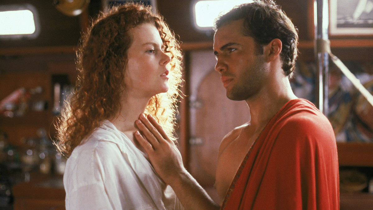 The battle of wits between Kidman (left) and Zane (right) is tense and sexually charged, captivating the viewer throughout.