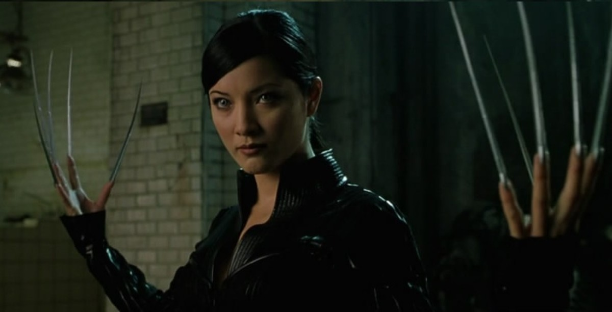 Kelly Hu as Lady Deathstrike, a deadly assassin who can't find a manicurist anywhere.