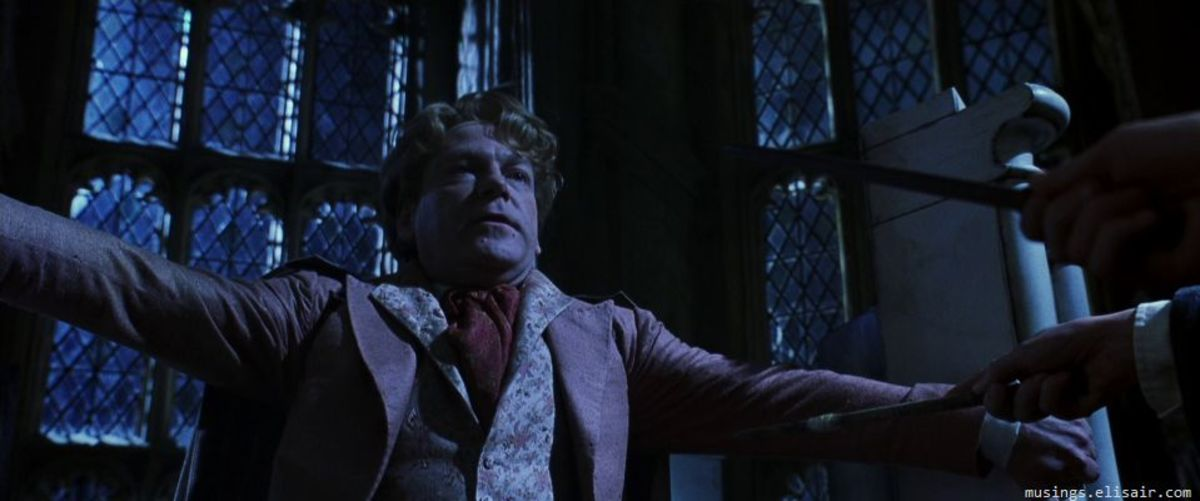 Branagh's appearance as the foppish Lockhart gives the film a comedic edge to clash with the film's darker tone