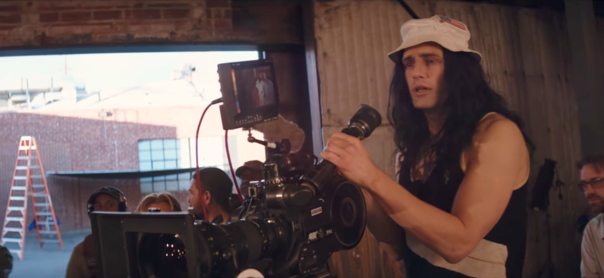 James Franco's appearance as Wiseau feels like a caricature - clearly unbalanced but somehow charismatic enough to encourage others to share his deluded dream.
