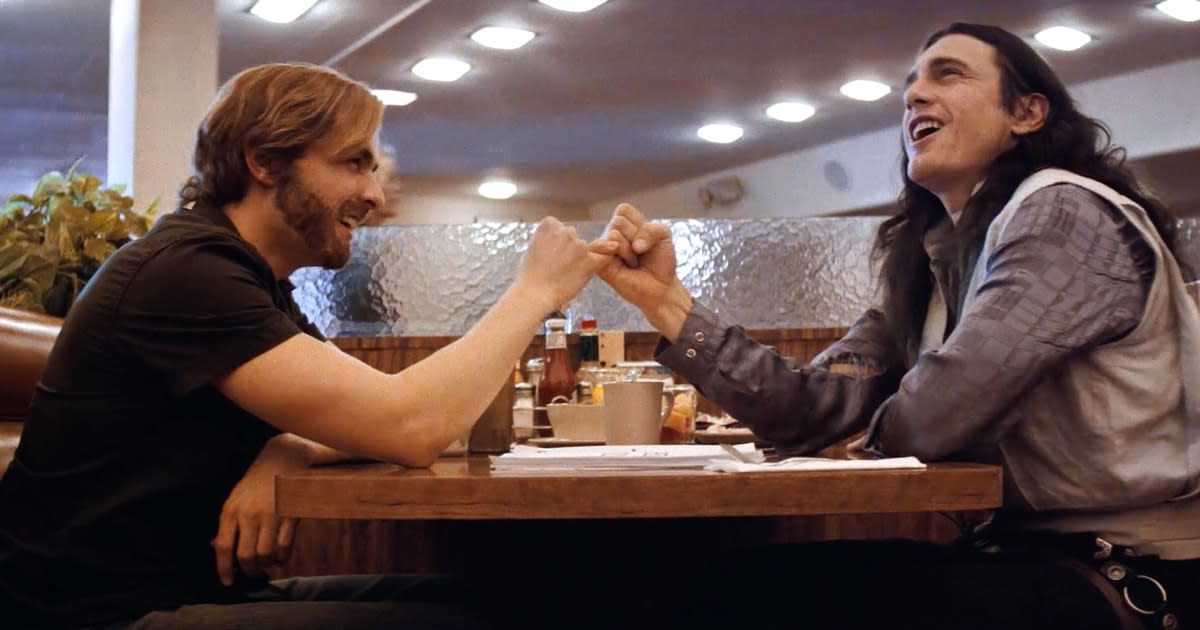 The Franco brothers actually give good performances as Sestero and Wiseau, largely ignoring the sort of frat-boy humour I usually associate them with.