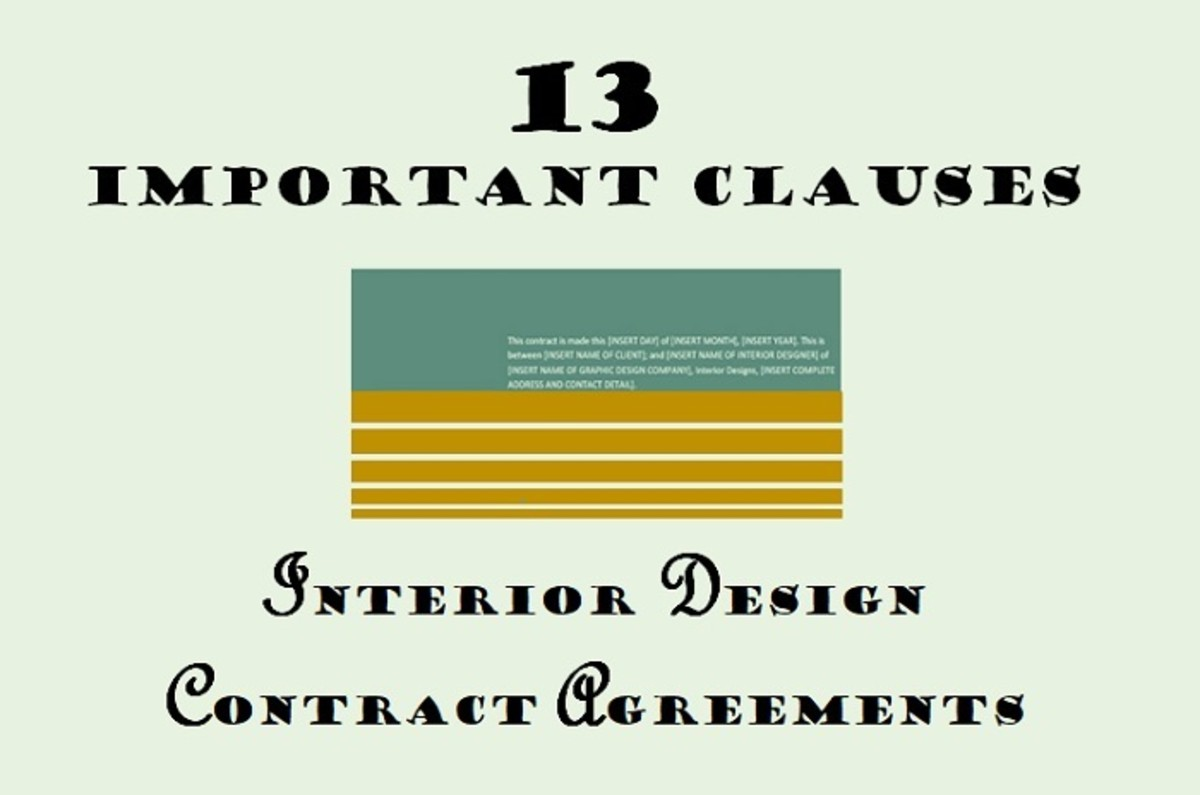 13 Important Clauses to Add to Interior Design Contract Agreements